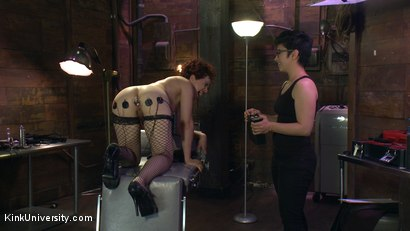 Photo number 8 from E-Stim 101: Introduction to Electrosex shot for Kink University on Kink.com. Featuring Fivestar and Ingrid Mouth in hardcore BDSM & Fetish porn.