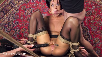 Photo number 6 from All Natural 19 Year Old Submissive Training shot for The Training Of O on Kink.com. Featuring Sabrina Banks and Bill Bailey in hardcore BDSM & Fetish porn.