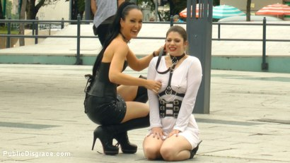 Photo number 1 from Disgusting Piss Guzzling Slut Paraded Through Budapest shot for Public Disgrace on Kink.com. Featuring Fetish Liza, Steve Holmes, Conny Dachs and Lucia Love in hardcore BDSM & Fetish porn.