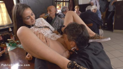 Photo number 13 from Teen Exposed and Fucked in Public  shot for Public Disgrace on Kink.com. Featuring Steve Holmes and Anina Silk in hardcore BDSM & Fetish porn.