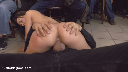 Photo number 21 from Teen Exposed and Fucked in Public  shot for Public Disgrace on Kink.com. Featuring Steve Holmes and Anina Silk in hardcore BDSM & Fetish porn.