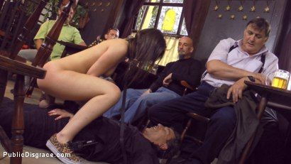 Photo number 22 from Teen Exposed and Fucked in Public  shot for Public Disgrace on Kink.com. Featuring Steve Holmes and Anina Silk in hardcore BDSM & Fetish porn.