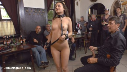 Photo number 11 from Teen Exposed and Fucked in Public  shot for Public Disgrace on Kink.com. Featuring Steve Holmes and Anina Silk in hardcore BDSM & Fetish porn.