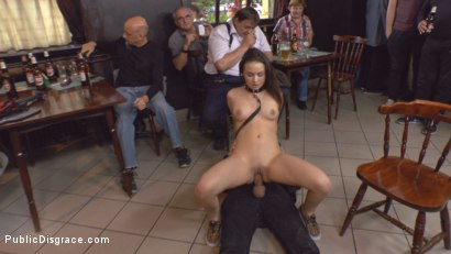 Teen Exposed and Fucked in Public