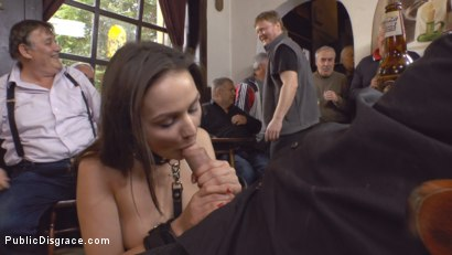 Photo number 23 from Teen Exposed and Fucked in Public  shot for Public Disgrace on Kink.com. Featuring Steve Holmes and Anina Silk in hardcore BDSM & Fetish porn.