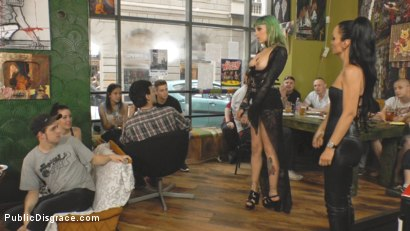 Photo number 5 from Disobedient Slut Gets Publicly Punished shot for Public Disgrace on Kink.com. Featuring Fetish Liza, John Strong and Lola in hardcore BDSM & Fetish porn.