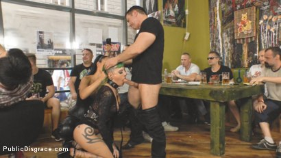 Photo number 8 from Disobedient Slut Gets Publicly Punished shot for Public Disgrace on Kink.com. Featuring Fetish Liza, John Strong and Lola in hardcore BDSM & Fetish porn.