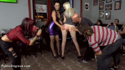 Photo number 5 from Alexa Wild's Double Vaginal Public Humiliation shot for Public Disgrace on Kink.com. Featuring Fetish Liza, RAM and Alexa Wild in hardcore BDSM & Fetish porn.