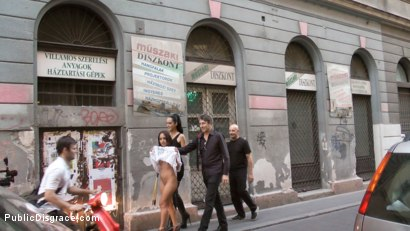 Photo number 19 from Slut with No Manners Gets the Cops Called While Sucking Dicks Outside shot for publicdisgrace on Kink.com. Featuring Fetish Liza, Steve Holmes, Nomi Melone and RAM in hardcore BDSM & Fetish porn.
