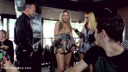 Photo number 9 from Three Dicks, Two Lesbians and One Anal Fisting shot for Public Disgrace on Kink.com. Featuring Isabella Clark, Steve Holmes, Chad Rockwell, Frank Gun and Mandy in hardcore BDSM & Fetish porn.