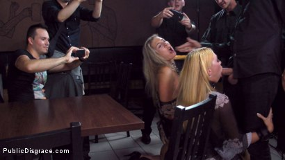Photo number 11 from Three Dicks, Two Lesbians and One Anal Fisting shot for Public Disgrace on Kink.com. Featuring Isabella Clark, Steve Holmes, Chad Rockwell, Frank Gun and Mandy in hardcore BDSM & Fetish porn.