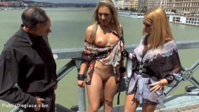 Photo number 3 from Three Dicks, Two Lesbians and One Anal Fisting shot for Public Disgrace on Kink.com. Featuring Isabella Clark, Steve Holmes, Chad Rockwell, Frank Gun and Mandy in hardcore BDSM & Fetish porn.