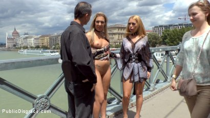 Photo number 4 from Three Dicks, Two Lesbians and One Anal Fisting shot for Public Disgrace on Kink.com. Featuring Isabella Clark, Steve Holmes, Chad Rockwell, Frank Gun and Mandy in hardcore BDSM & Fetish porn.