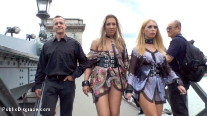Photo number 5 from Three Dicks, Two Lesbians and One Anal Fisting shot for Public Disgrace on Kink.com. Featuring Isabella Clark, Steve Holmes, Chad Rockwell, Frank Gun and Mandy in hardcore BDSM & Fetish porn.