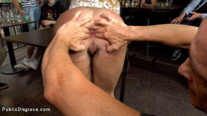 Photo number 23 from Busty Blonde Isabella Clark Public Double Penetration - Part 1 shot for Public Disgrace on Kink.com. Featuring Steve Holmes, Isabella Clark and Frank Gun in hardcore BDSM & Fetish porn.