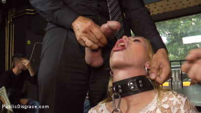 Photo number 25 from Busty Blonde Isabella Clark Public Double Penetration - Part 1 shot for Public Disgrace on Kink.com. Featuring Steve Holmes, Isabella Clark and Frank Gun in hardcore BDSM & Fetish porn.