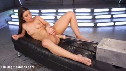 Photo number 4 from Pretty, Young, Thing Begs For Anal Pounding and Leaves Cum Drunk From Fucking Machines!!   shot for Fucking Machines on Kink.com. Featuring Serena Blair in hardcore BDSM & Fetish porn.
