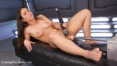 Photo number 5 from Pretty, Young, Thing Begs For Anal Pounding and Leaves Cum Drunk From Fucking Machines!!   shot for Fucking Machines on Kink.com. Featuring Serena Blair in hardcore BDSM & Fetish porn.