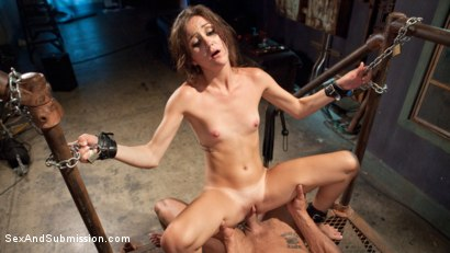 Photo number 9 from The Senator's Daughter shot for Sex And Submission on Kink.com. Featuring Marco Banderas and Renee Roulette in hardcore BDSM & Fetish porn.