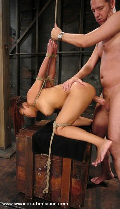 Photo number 9 from Jazmine Leih and Chris Charming shot for Sex And Submission on Kink.com. Featuring Chris Charming and Jazmine Leih in hardcore BDSM & Fetish porn.
