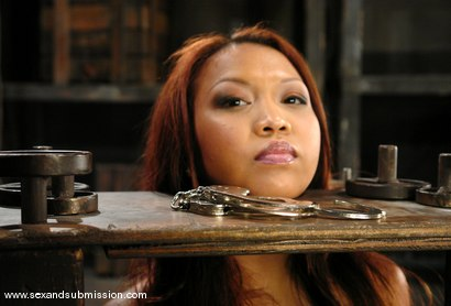 Photo number 5 from Jazmine Leih and Chris Charming shot for Sex And Submission on Kink.com. Featuring Chris Charming and Jazmine Leih in hardcore BDSM & Fetish porn.