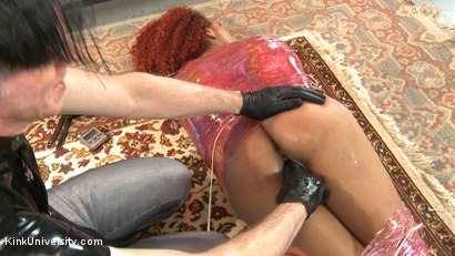 Photo number 23 from Mummification Bondage Play shot for Kink University on Kink.com. Featuring Danarama and Daisy Ducati in hardcore BDSM & Fetish porn.