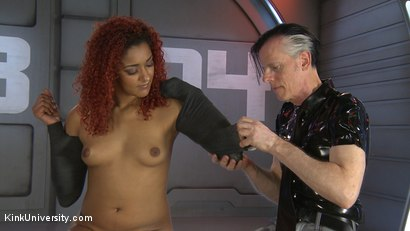 Photo number 3 from Mummification Bondage Play shot for Kink University on Kink.com. Featuring Danarama and Daisy Ducati in hardcore BDSM & Fetish porn.