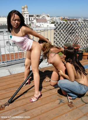 Photo number 11 from Lorena Sanchez, DragonLily and Annie Cruz shot for Whipped Ass on Kink.com. Featuring DragonLily, Annie Cruz and Lorena Sanchez in hardcore BDSM & Fetish porn.