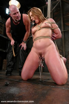 Photo number 6 from Mark Davis and Flower Tucci shot for Sex And Submission on Kink.com. Featuring Mark Davis and Flower Tucci in hardcore BDSM & Fetish porn.