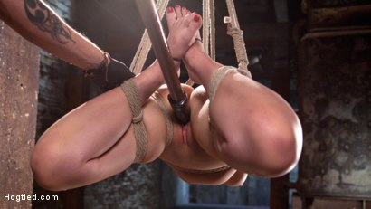 Photo number 9 from The Marilyn Monroe of Porn in Tight Bondage with Extreme Torment and Orgasms!!! shot for Hogtied on Kink.com. Featuring Jenna Ivory in hardcore BDSM & Fetish porn.