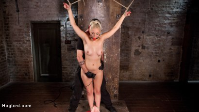 Photo number 4 from The Marilyn Monroe of Porn in Tight Bondage with Extreme Torment and Orgasms!!! shot for Hogtied on Kink.com. Featuring Jenna Ivory in hardcore BDSM & Fetish porn.