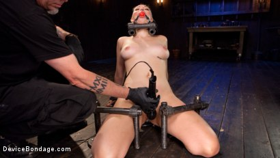 Photo number 1 from Blonde Brat Punishment shot for Device Bondage on Kink.com. Featuring Jenna Ivory and The Pope in hardcore BDSM & Fetish porn.