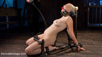 Photo number 12 from Blonde Brat Punishment shot for Device Bondage on Kink.com. Featuring Jenna Ivory and The Pope in hardcore BDSM & Fetish porn.