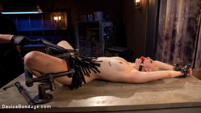 Photo number 13 from Blonde Brat Punishment shot for Device Bondage on Kink.com. Featuring Jenna Ivory and The Pope in hardcore BDSM & Fetish porn.