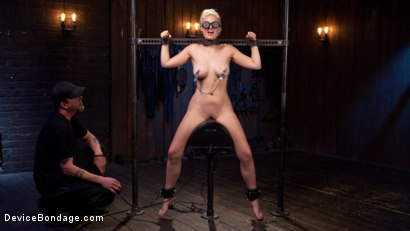 Photo number 7 from Blonde Brat Punishment shot for Device Bondage on Kink.com. Featuring Jenna Ivory and The Pope in hardcore BDSM & Fetish porn.