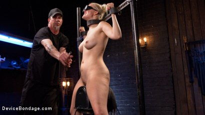 Photo number 9 from Blonde Brat Punishment shot for Device Bondage on Kink.com. Featuring Jenna Ivory and The Pope in hardcore BDSM & Fetish porn.