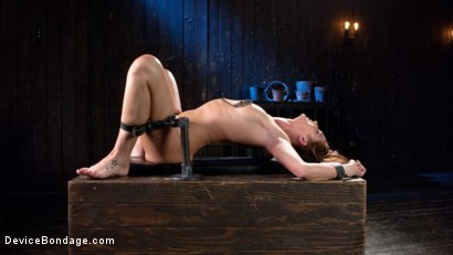 Photo number 10 from Terrorizing Bianca Breeze shot for Device Bondage on Kink.com. Featuring Bianca Breeze and The Pope in hardcore BDSM & Fetish porn.