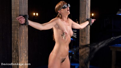 Photo number 13 from Terrorizing Bianca Breeze shot for Device Bondage on Kink.com. Featuring Bianca Breeze and The Pope in hardcore BDSM & Fetish porn.