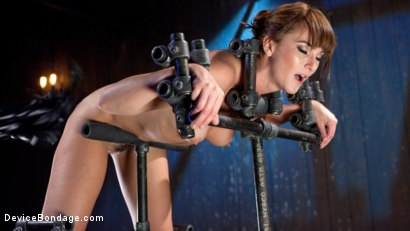 Photo number 2 from Terrorizing Bianca Breeze shot for Device Bondage on Kink.com. Featuring Bianca Breeze and The Pope in hardcore BDSM & Fetish porn.