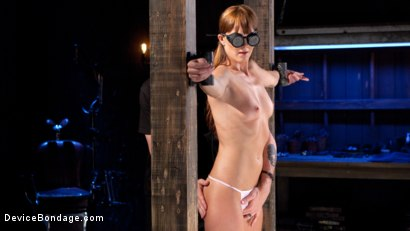 Photo number 4 from Terrorizing Bianca Breeze shot for Device Bondage on Kink.com. Featuring Bianca Breeze and The Pope in hardcore BDSM & Fetish porn.
