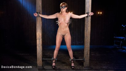 Photo number 5 from Terrorizing Bianca Breeze shot for Device Bondage on Kink.com. Featuring Bianca Breeze and The Pope in hardcore BDSM & Fetish porn.