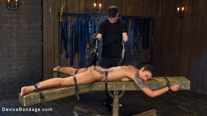Photo number 10 from Penthouse Pet Skin Diamond Squirting in Brutal Bondage and Punished!! shot for Device Bondage on Kink.com. Featuring Skin Diamond and The Pope in hardcore BDSM & Fetish porn.