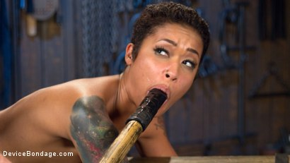 Photo number 11 from Penthouse Pet Skin Diamond Squirting in Brutal Bondage and Punished!! shot for Device Bondage on Kink.com. Featuring Skin Diamond and The Pope in hardcore BDSM & Fetish porn.