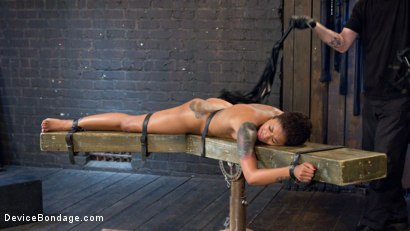 Photo number 13 from Penthouse Pet Skin Diamond Squirting in Brutal Bondage and Punished!! shot for Device Bondage on Kink.com. Featuring Skin Diamond and The Pope in hardcore BDSM & Fetish porn.
