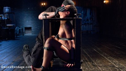 Photo number 7 from Penthouse Pet Skin Diamond Squirting in Brutal Bondage and Punished!! shot for Device Bondage on Kink.com. Featuring Skin Diamond and The Pope in hardcore BDSM & Fetish porn.