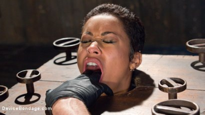 Photo number 8 from Penthouse Pet Skin Diamond Squirting in Brutal Bondage and Punished!! shot for Device Bondage on Kink.com. Featuring Skin Diamond and The Pope in hardcore BDSM & Fetish porn.