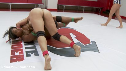Photo number 12 from Two Dominant Wrestlers Fight in Erotic Wrestling, Only One can Win shot for Ultimate Surrender on Kink.com. Featuring Izamar Gutierrez and Yasmine Loven in hardcore BDSM & Fetish porn.