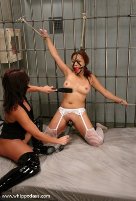 Photo number 9 from Sandra Romain and Jazmine Leih shot for Whipped Ass on Kink.com. Featuring Sandra Romain and Jazmine Leih in hardcore BDSM & Fetish porn.