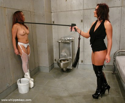 Photo number 3 from Sandra Romain and Jazmine Leih shot for Whipped Ass on Kink.com. Featuring Sandra Romain and Jazmine Leih in hardcore BDSM & Fetish porn.