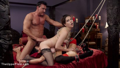 Photo number 15 from Nymphomaniac Slave Punished with Double Pounding shot for The Upper Floor on Kink.com. Featuring Veronica Avluv, Kasey Warner and Marco Banderas in hardcore BDSM & Fetish porn.
